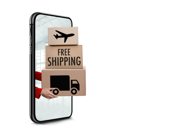 Boxes with free shipping text. Free shipping. Free delivery shipping. Why offer free shipping. shops with free delivery uk. Free shipping ecommerce. Psychology of free products. Should i offer free shipping.