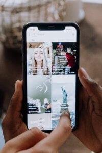image of tiktok app. how to sell on tiktok, tiktok advertising, tiktok ecommerce